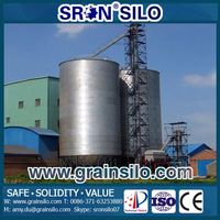 SRON Used Steel Grain Storage Bins Sale Cost Down
