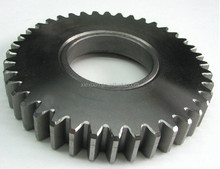Steel large spur gear for mechanical parts