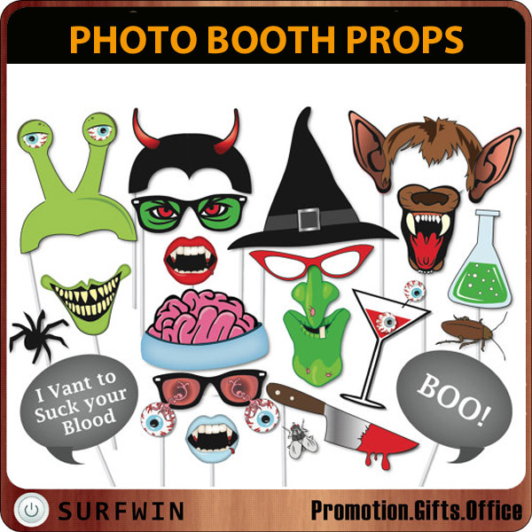 Halloween decorations Photo Booth Props