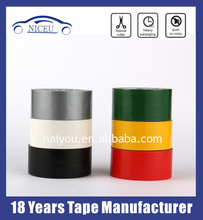 Hot melt Cloth duct adheisve tape for Industrial bonding affixing joining ,sealing and protecting