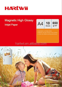 650g Magnetic Glossy Photo Paper Sticker