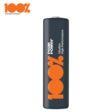 100%PeakPower Alkaline Battery AA