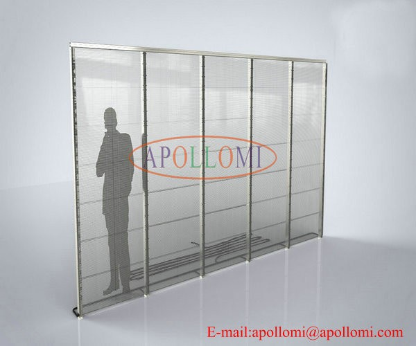 Original video fullcolor glass wall transparent P10mm led display
