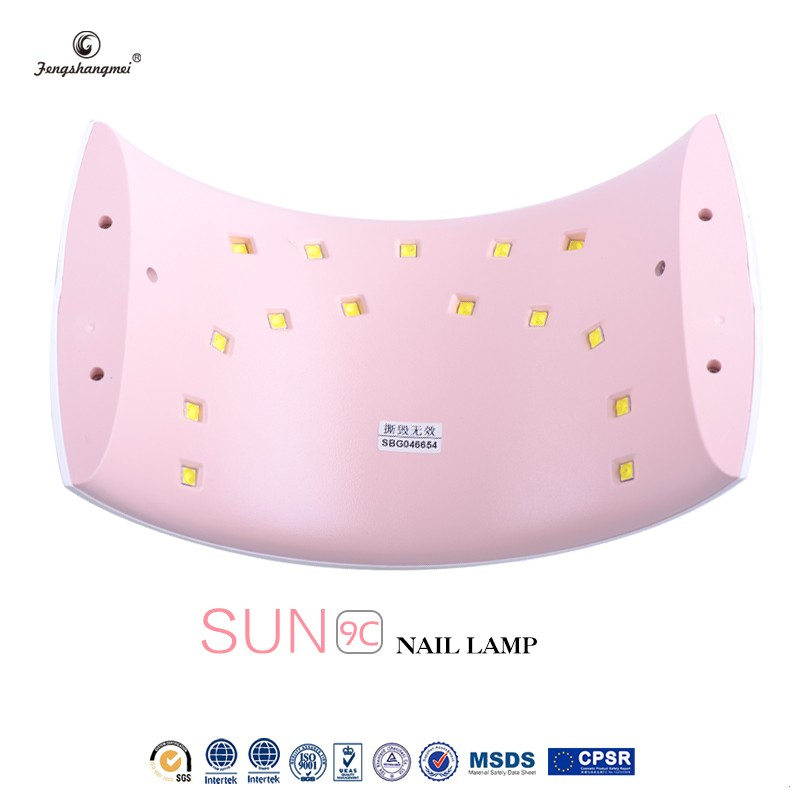 fengshangmei brand New Style ProfessionalBest Sale 36w professional nail dryer lamp new arrival led nail lamp