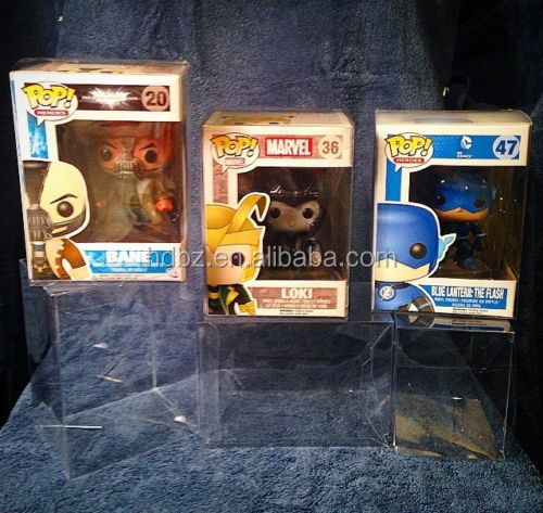 "FUNKO POP PROTECTORS BOX! 4"" INCH 6"" INCH VINYL BOX PROTECTORS! ACID-FREE CRYSTAL CLEAR CASES"