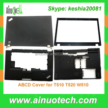 hot selling replacement laptop shell for thinkpad T510 T520 W520A W510 laptop body cover ABCD shell