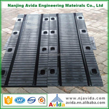 vulcanised rubber reinforcing plates insert bridge expansion joints