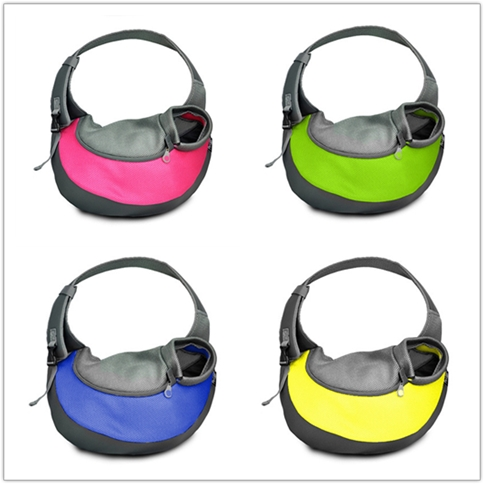 Eco-friendly breathable bike pet carrier dog sling carrier