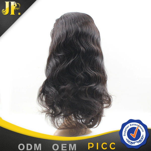 JP Hair wholesale fast delivery body wave 100 indian virgin hair full lace wigs