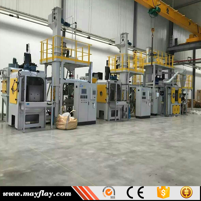 China Sandblasting Machine Manufacturer Supply Hot Sale Automatic Sandblasting Machine For Bearing