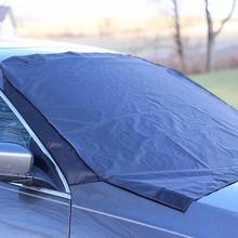 Premium Windshield Snow Cover Sizes for ALL Vehicles - Covers Wipers - Snow Ice