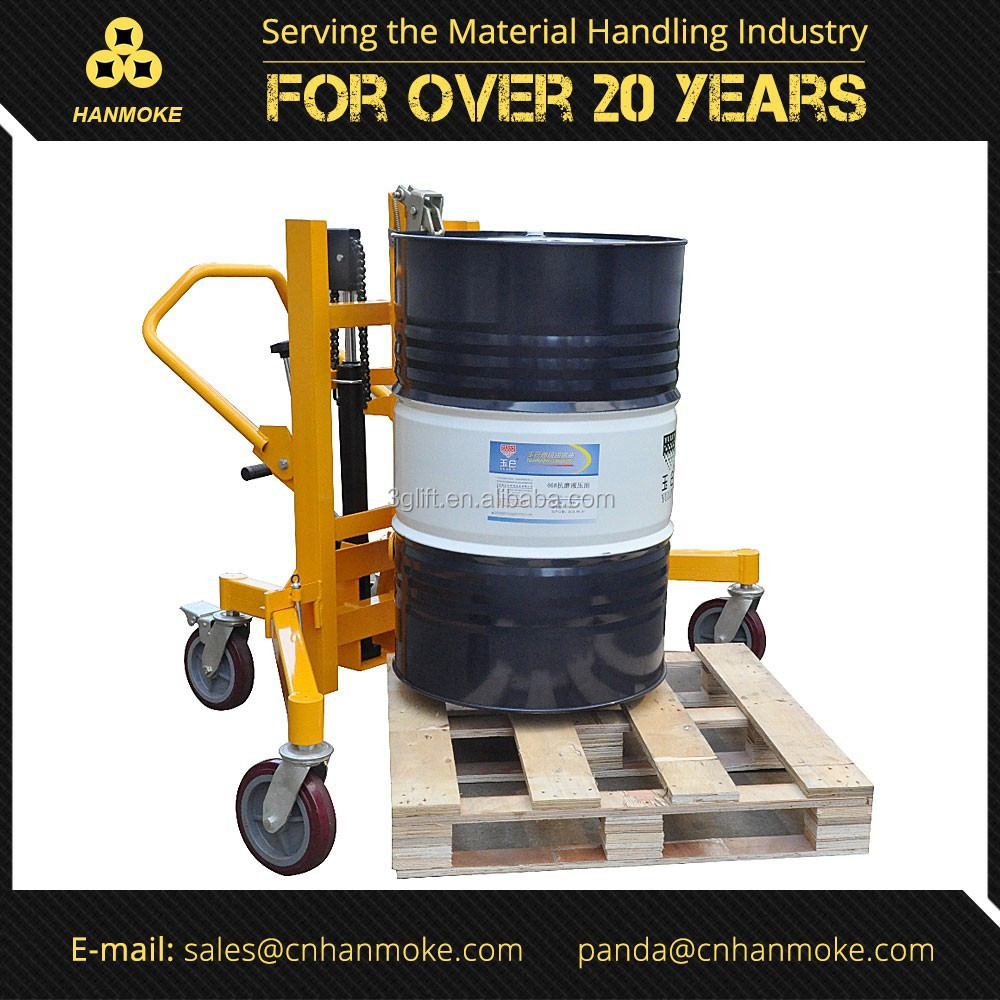 Manual Hydraulic Portable Drum Carrier