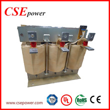 300KVA Power Range 3 Phase Power Reactor for copper conductor