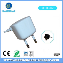 New model square shape mobile phone travel charger charge for Micro USB android device smart phone