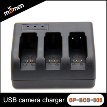 Go pro Digital Camera Battery Charger With Three Slots For AHDBT-501 Battery