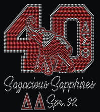 Wholesale crystals for delta sigma theta dst rhinestone heat transfers for shirts