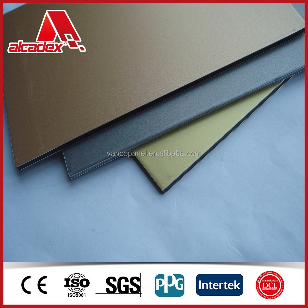 ally 3003 &alloy 1100 aluminium composite panel acm