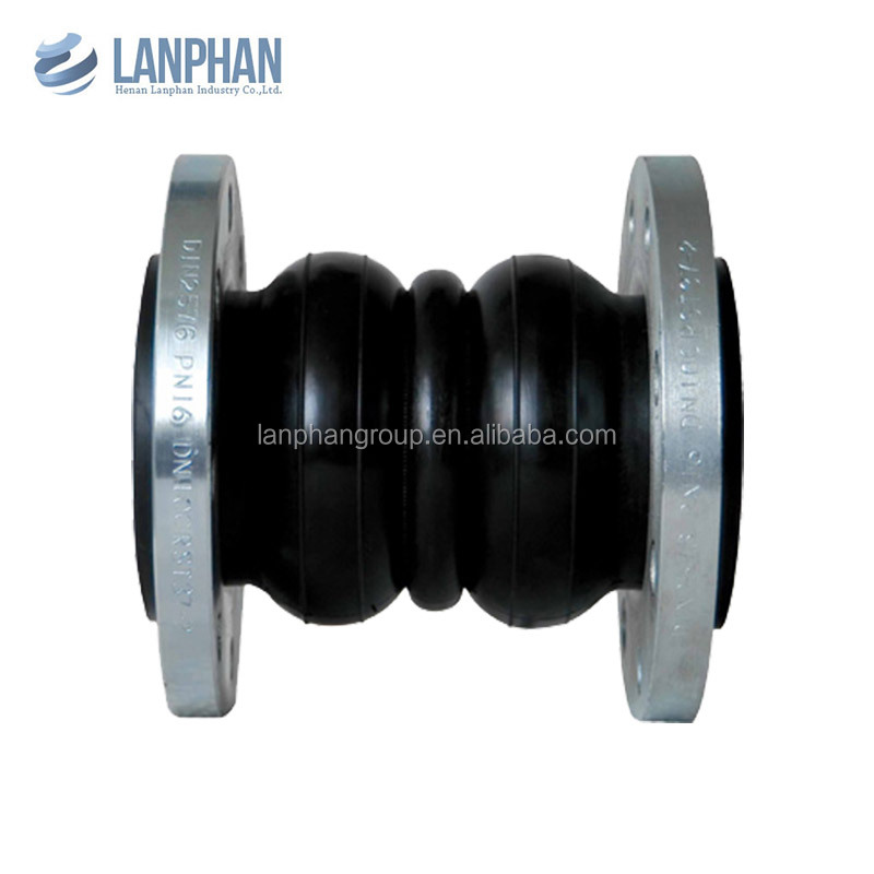 flexible molded flange rubber bellows