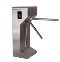 Factory Price Tripod Turnstile Singapore Fingerprint Scanning Turnstile with Counter Module