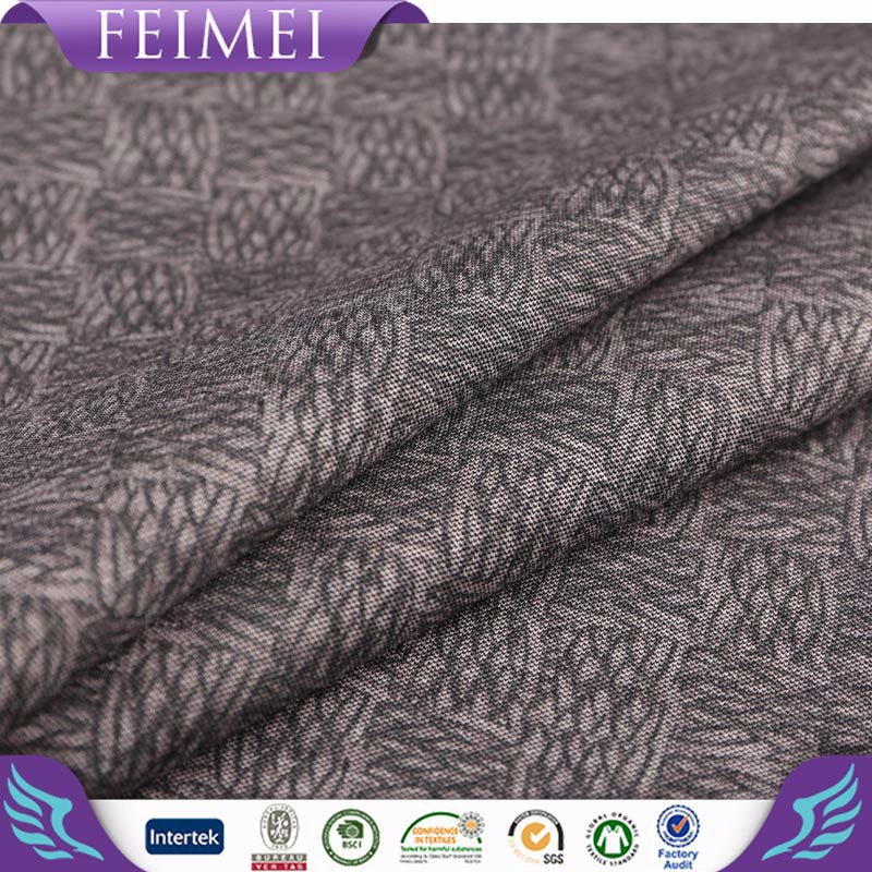China supplier Luxury knitted fabric 100% rayon stretch roma fabric