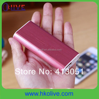 portable mini 2600mah power bank of wholesale cell phone accessories
