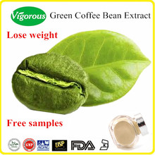 Health product lose weight organic pure 50% chlorogenic acid green coffee bean extract powder