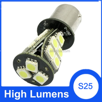 Car led tuning light 1156 BA15s LED Car Canbus 21SMD LED White Car Stop Tail Turn Brake Light Bulb LED BA15S Canbus