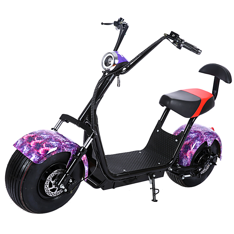 new big wheel electric scooter newest harley citycoco scooter two seat mobility scooters