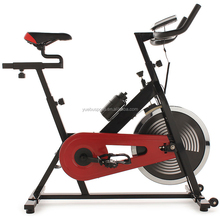 YB-S1000 Belt Chain Drive Indoor Cycling Bike Upright Stationary Exercise Bike Adjustable Gym Workout Fitness Home