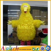 Yellow duck costume, fur costume for sale