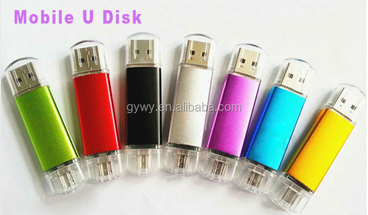 wholesales OTG Smartphone USB Flash Drive 4gb mobile phone usb cellphone usb memory