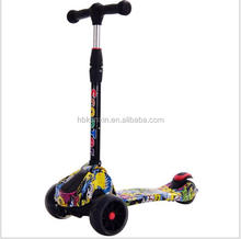 Outdoor ride on toys riding scooter / hot sale children seated scooter / best toddler scooter for sale