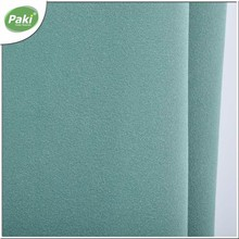1.1mm PU yangbuck artificial leather fabric for shoes