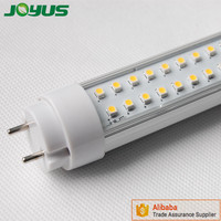 3528 t8 18-19w led tube light with assembly components