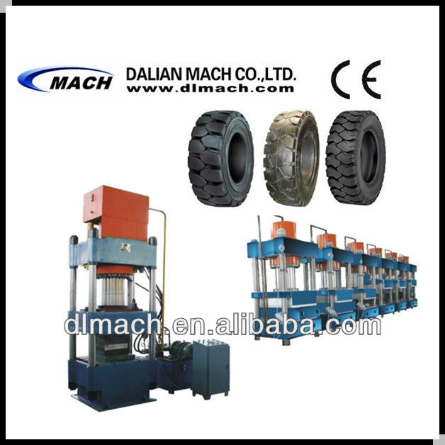 Solid Tyre Making Vulcanizing Machine