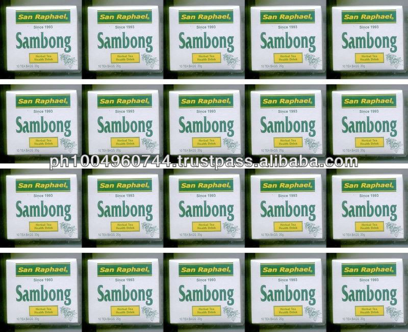 20 Boxes Sambong Blumea Balsamifera Herbal Tea for Kidney Stones