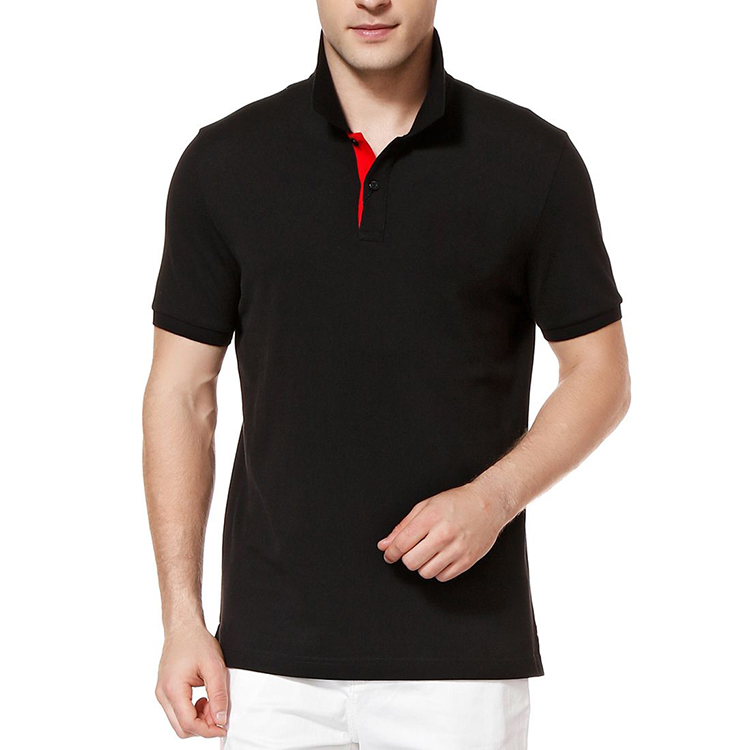 Best Quality Mens Clothing Online Shopping India 100% Cotton Short Sleeve Custom Embroidery Mens Polo t shirts