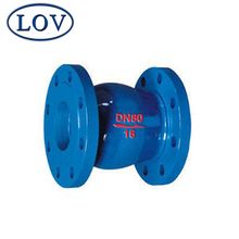 DN80 PN16 Slient Vertical Lift Check Valve One Way Wafer Swing Check Valve Price
