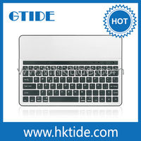 Aluminium bluetooth keyboard brand for samsung galaxy note 10.1and colorful iphone case keyboard or samsung tv box keyboard