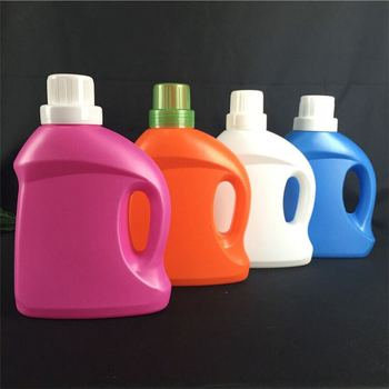 OEM 1000 ml liquid soap laundry detergent pe plastic bottle with cap with cheap price
