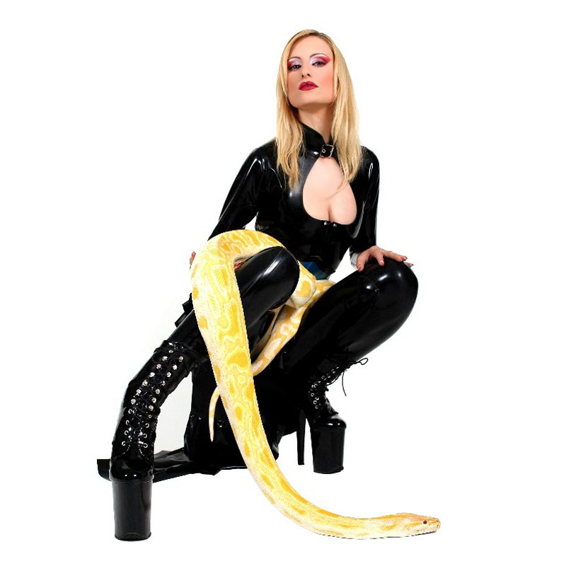 women plus size catsuit zipper crotch vinyl catsuit full body sexy women catsuit