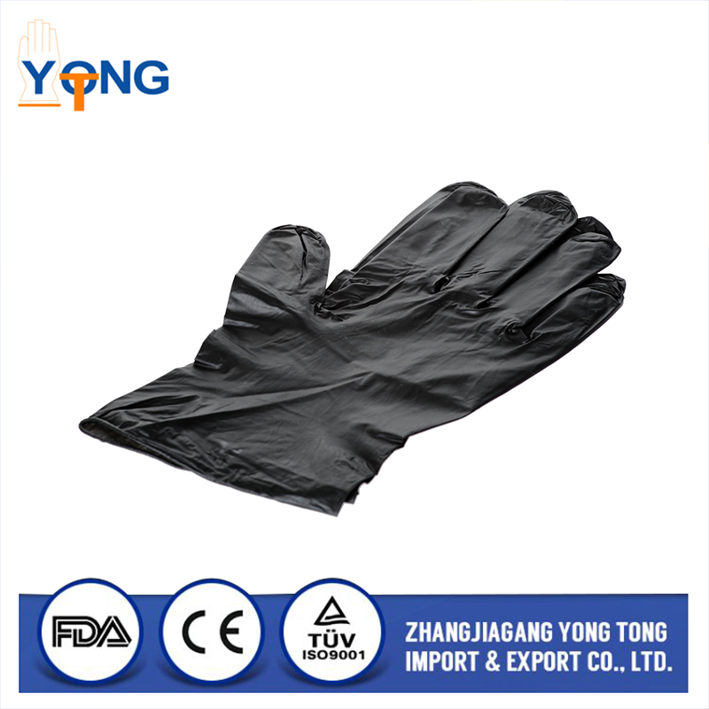 New brand 2017 disposable non sterile medical vinyl gloves with long service life