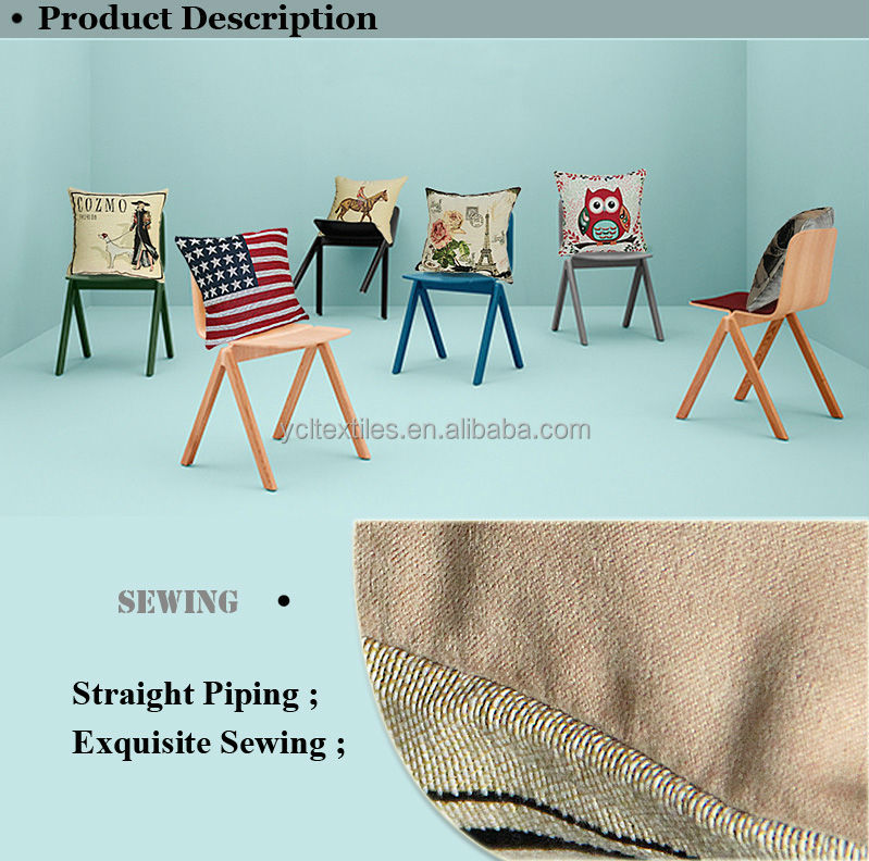 Wholesale Blank Custom Cushion Cover Fabric
