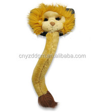 Plush Animal Mask and Tail /party face mask for Dress up Party
