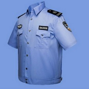 wholesale custom high quality security guard uniform shirt design