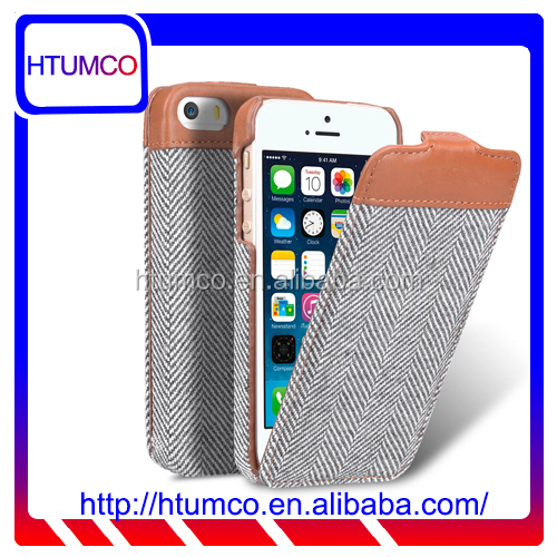 Newly Flip Premium leather case cover for Apple Iphone 5s / 5