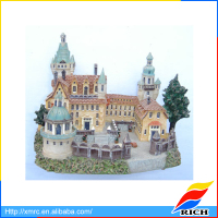 Souvenir resin model kits building miniature resin building