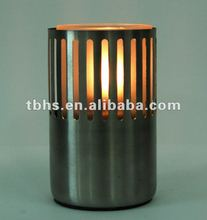 Leo Hotel Stainless Base Oil Table Lamp