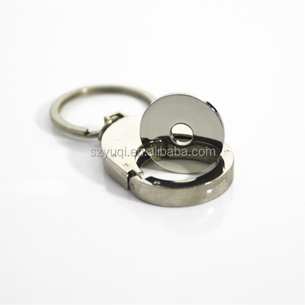 Stylish promotional retractable key chain