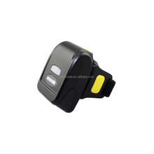 1D laser mini wireless bluetooth ring-type barcode scanner for IOS/Android/Mobile device